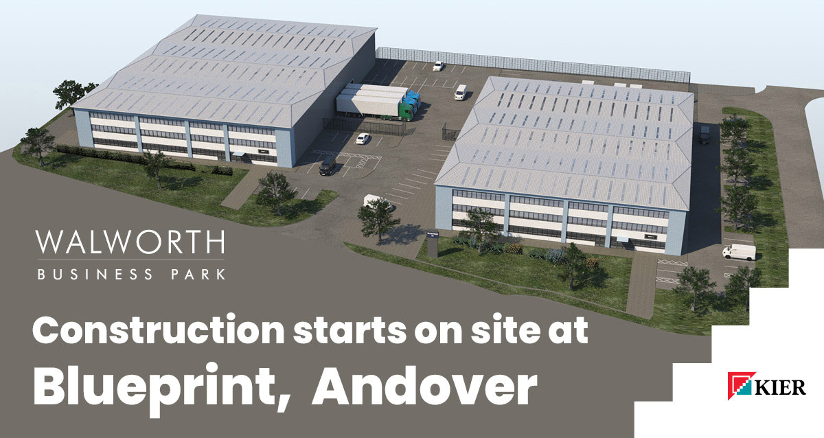 Construction starts on site at Blueprint, Andover
